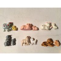 Киндер серия Животные с детенышами 1996г