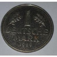 ФРГ 1 марка 1989
