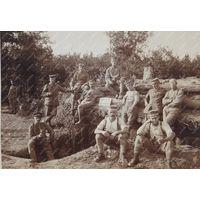 Германцы  1 Мировая война  размер 9х14 см