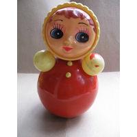Кукла Неваляшка из СССР. высота 22,5 см