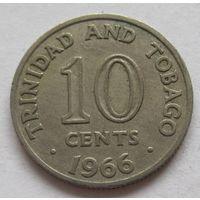 Тринидад и Тобаго 10 центов 1966