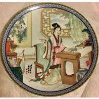 Лот из 6-ти китайских тарелок