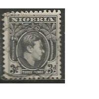 Нигерия. Король Георг VI. 1938г. Mi#54.