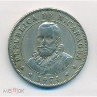 Никарагуа 50 сентаво 1954 год