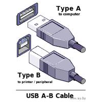 Usb-кабель для принтера (45 см)