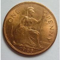 Британия. один пенни 1965г.