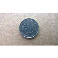 Бельгия 1 франк, 1991.'BELGIE' (D-2)