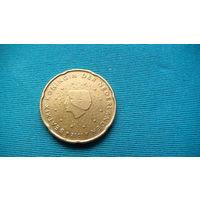 Нидерланды 20 евро центов 2001г.   распродажа