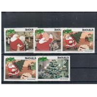 1981 Ангилья мультфильмы Дисней Рождество ** Дед Мороз