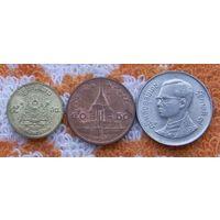 Тайланд 25 и 50 центов, 1 бат. Качество! Покупай умнее, живи веселее!