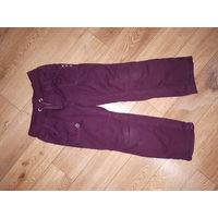 Фирменные штанишки для девочки рост 110-116 см.