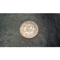 20 грошей 1923 г. Польша