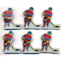 Хоккеисты металлические от игры настольный хоккей