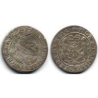 """Орт 1624, Сигизмунд III Ваза, Гданьск. На Рв окончание даты """"243"""" - следы неполной переделки штемпеля. Интересный вариант!"""