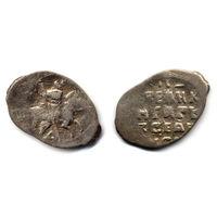 Копейка (княжеская), Иван IV, Псков. Буква А под конем