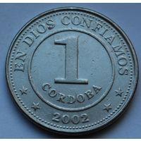 Никарагуа, 1 кордоба 2002 г.