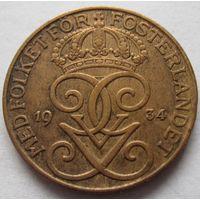 Швеция 5 эре 1934