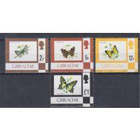[893] Гибралтар 1977.Фауна.Бабочки.