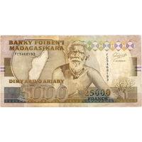 Мадагаскар, 5 000 ариари (25 000 франков), 1993 г. Не частый