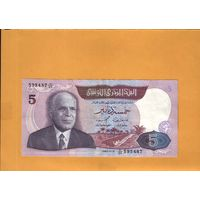 Тунис  5 динар 1983г. унс