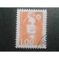 Франция 1990 стандарт 1,00