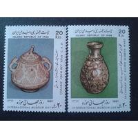 Иран 1987 межд. день музеев полная серия