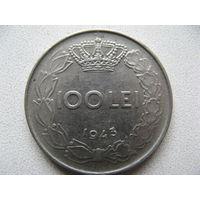 Румыния 100 лей 1943 г.
