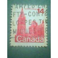 Канада. Стандарт. 1978г. гашеная