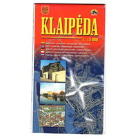 Карта Клайпеды