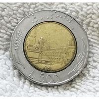 500 лир 1991 Италия #01