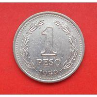 1 песо 1959 Аргентина