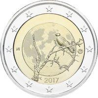 2 Евро Финляндия 2017 природа Финляндии UNC из ролла