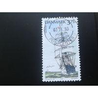 Дания 1993 парусник