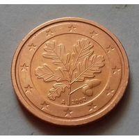 2 евроцента, Германия 2002 A, AU
