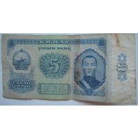 Монголия 5 тугриков 1981 г. (a)