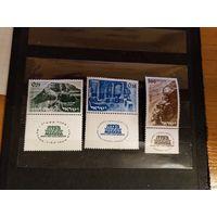 1965 Израиль Массада культура искусство полная серия чистые клей наклейки (1-6)