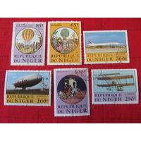 Нигер. 1983. 200 лет воздухоплавания. Сер. 6 м.