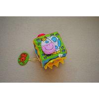Развивающая игрушка куб