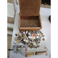 Инструмент и принадлежности от советского часовщика. Все что на фото!