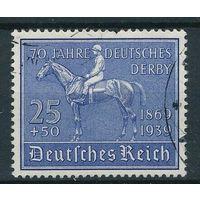 Германия \59а\ 1939(Мих.698) гаш.  Лошади спорт