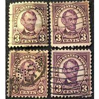 ЦІКАВІЦЬ АБМЕН! 1923, LINCOLN 3 цэнта