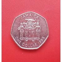 63-17 Ямайка, 1 доллар 1995 г.
