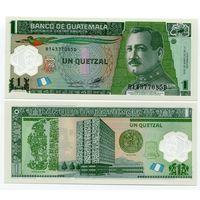 Гватемала 1 кетцаль образца 2006 года UNC p115
