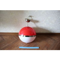 Люстра (светильник)  на две лампочки, (рабочая), СССР
