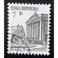 Чехия 1994 г. Острава. Архитектура, полная серия из 1 марки #0018-A1
