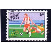 Гвинея-Биссау.Спорт.Футбол.Олимпийс кие игры.Лос-Анжелес.1984.