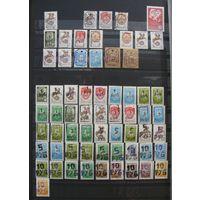 Коллекция. Почтовые марки РБ 1992 - 2002 г.г.