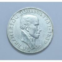 Австрия, 25 шиллингов 1959 год, - Серебро -