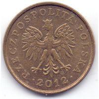Польша, 2 гроша 2012 года.