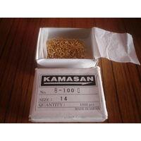 Крючки  Камасан  B100G  -14. Цена 1 рубль  за 5 штук